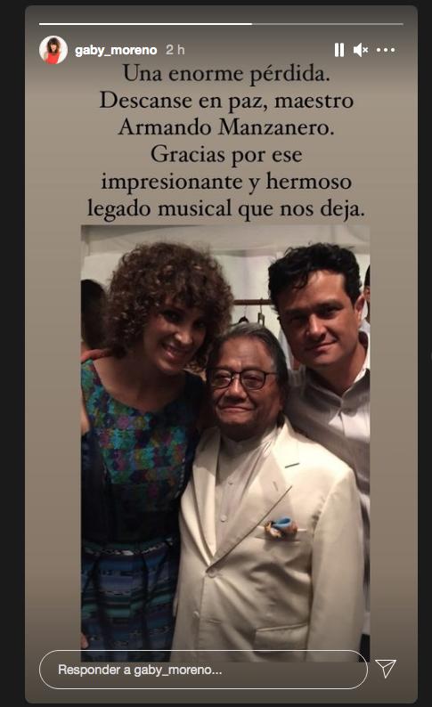 Armando Manzanero y Gaby Moreno