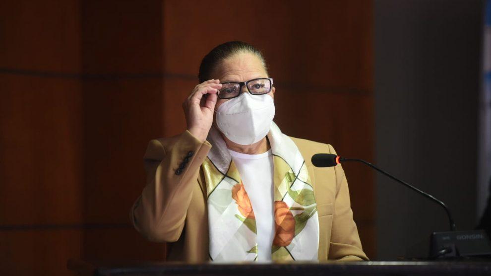 María Consuelo Porras Argueta, jefa del Ministerio Público (MP).