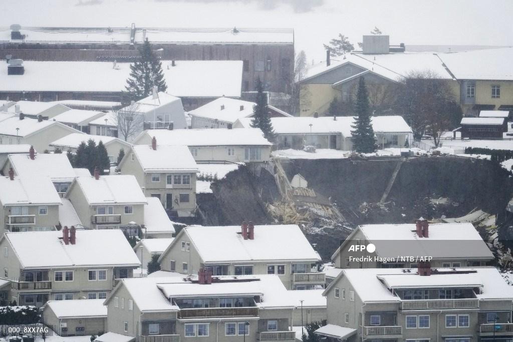 Socavón en Noruega