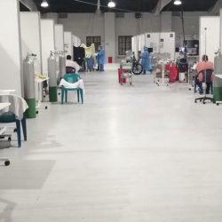 Intensivos de cinco hospitales saturados por casos críticos de Covid-19