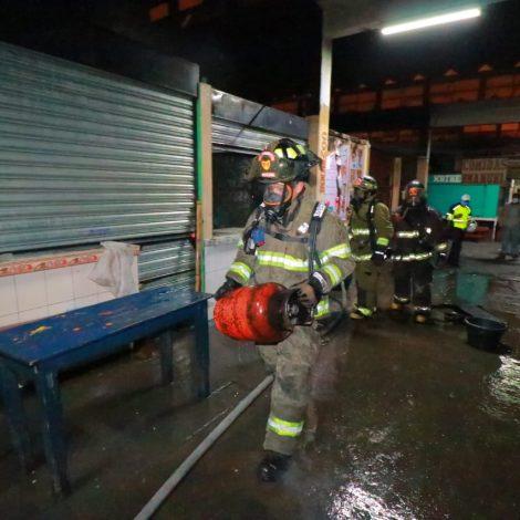 incendio en mercado La Terminal