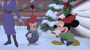 Mickey Mouse en Navidad