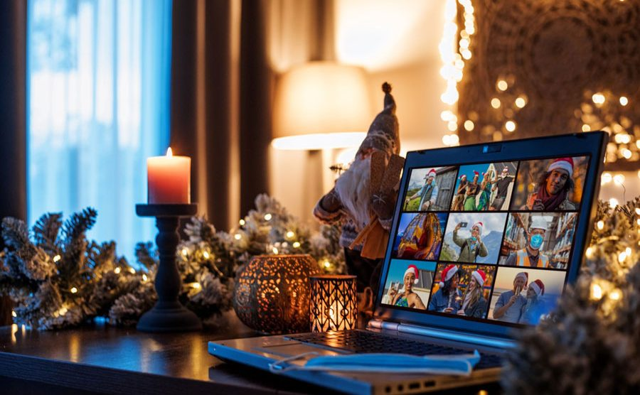 Navidad por videoconferencia