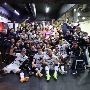 Pumas celebra pase a la final