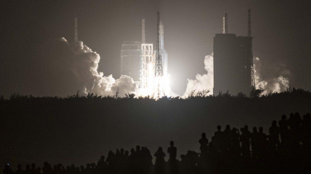 Lanzamiento de la sonda china Chang'e-5