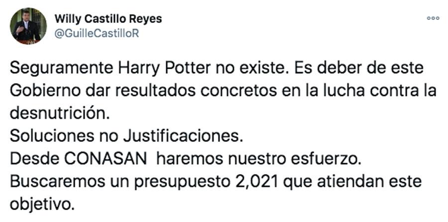 Tuit de Guillermo Castillo Reyes