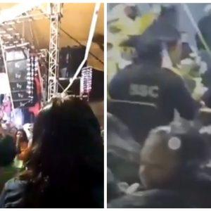 Policías se quedan en fiesta que se suponía debían cancelar