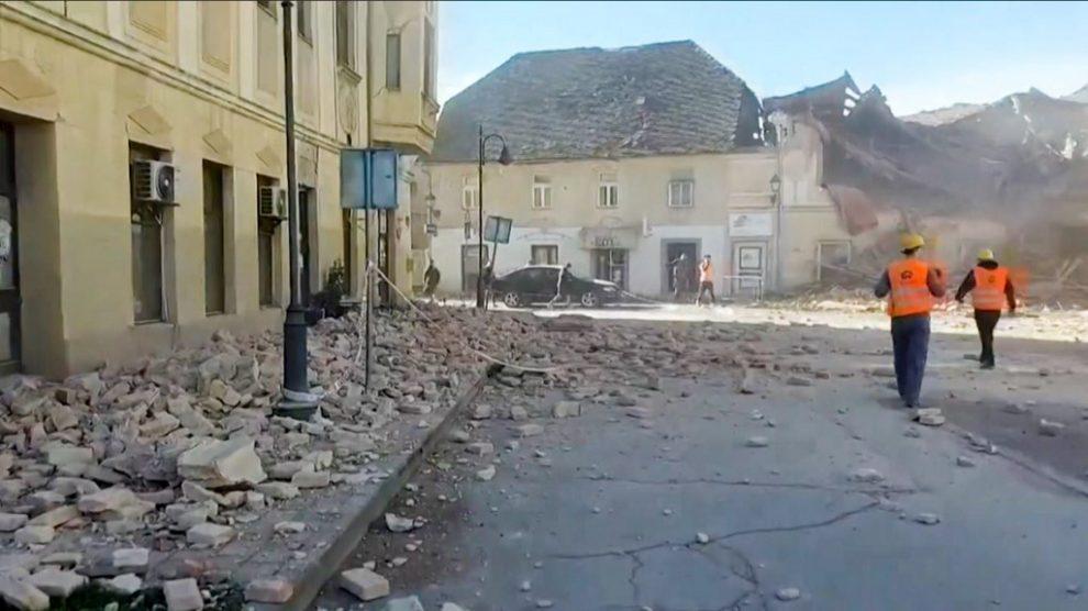 Terremoto en Croacia, diciembre 2020
