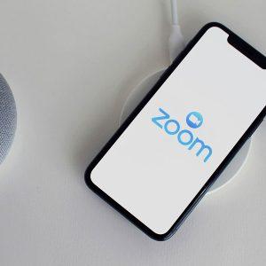 Zoom en un smartphone