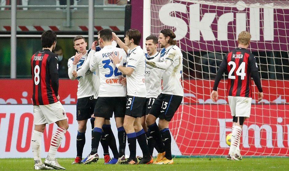 Atalanta golea al AC Milan