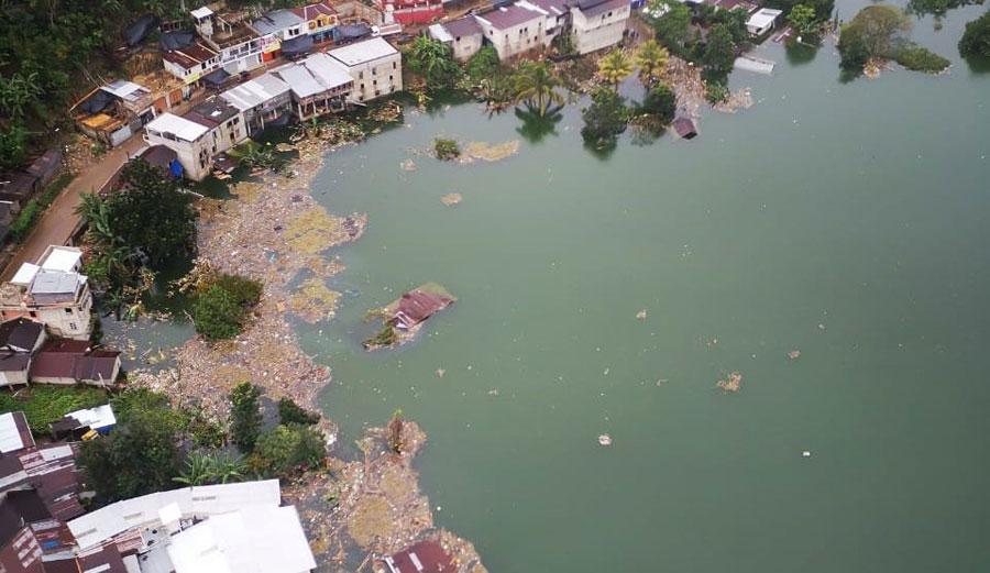 Campur inundado