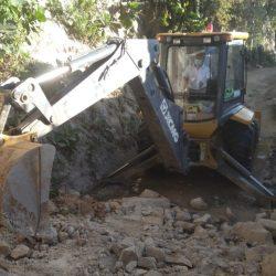 Conred reporta daños en una vivienda en Mixco por derrumbe