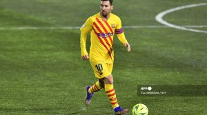 Messi podría perderse el partido frente a la Real Sociedad