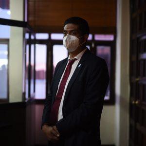 Mynor Moto espera tomar posesión como magistrado de la Corte de Constitucionalidad (CC).