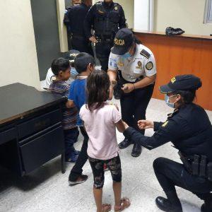 Tres menores fueron sustraídos de su vivienda, en Escuintla.