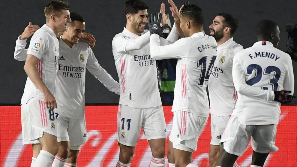 El Madrid vence al Celta