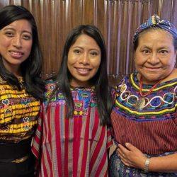Yalitza Aparicio comparte su reunión con famosas guatemaltecas