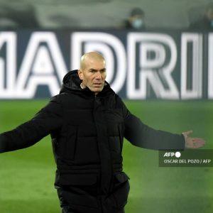 Zidane está mejor de salud tras dar positivo a COVID-19