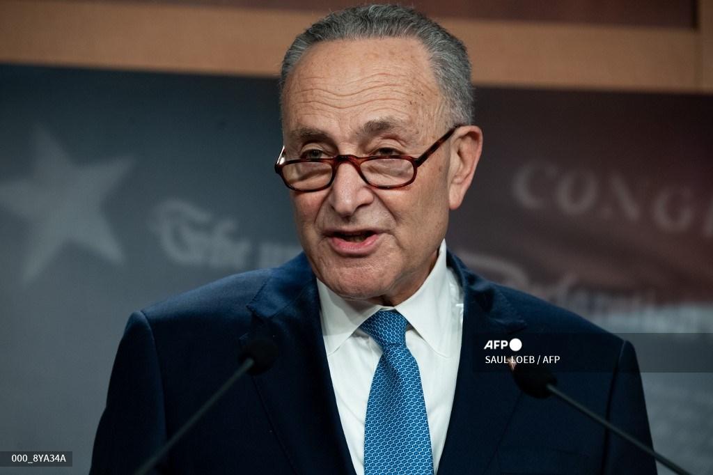 Chuck Schumer, líder demócrata