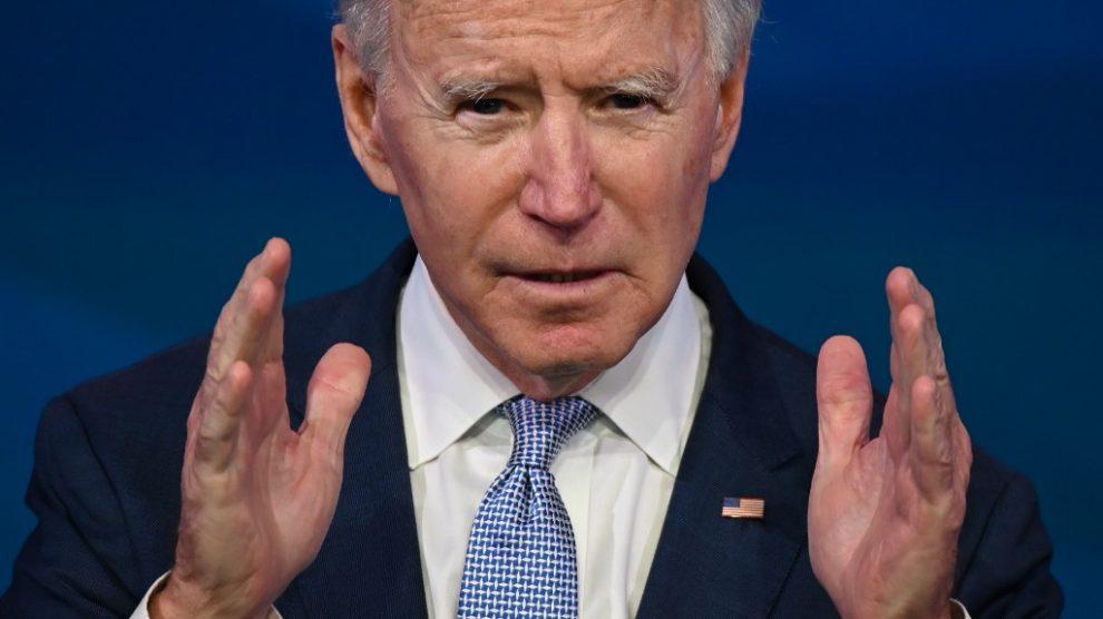 Joe Biden se pronuncia sobre acontecimientos en el Capitolio