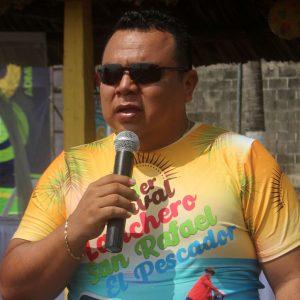 Carlos Preciado Navarijo, alcalde de Ocós
