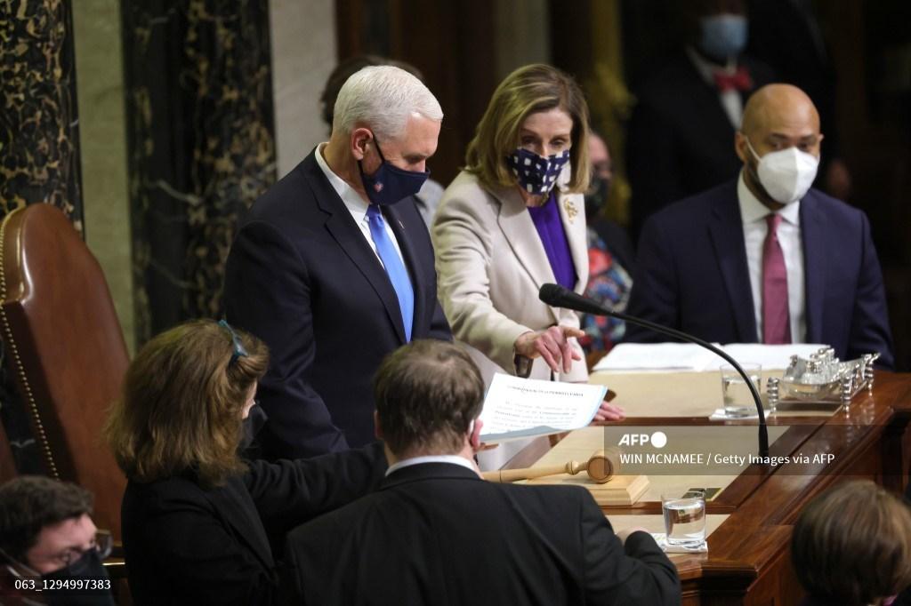 Congreso certifica victoria de Biden