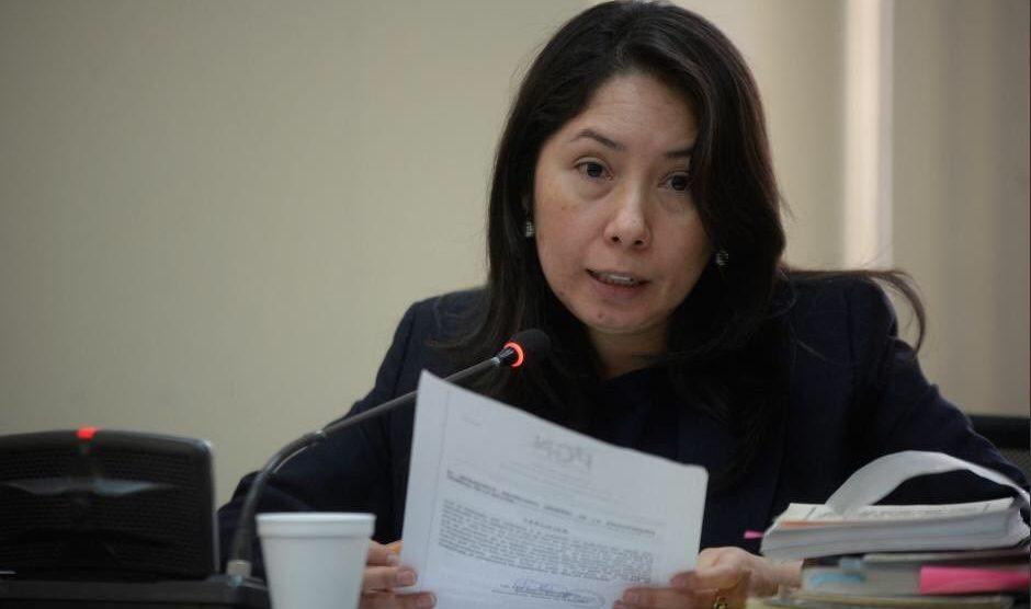 """La jueza Erika Aifán conoce el caso """"Caja de Pandora""""."""