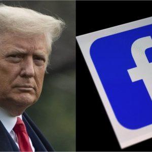 """Facebook bloquea la cuenta de Donald Trump """"indefinidamente"""""""