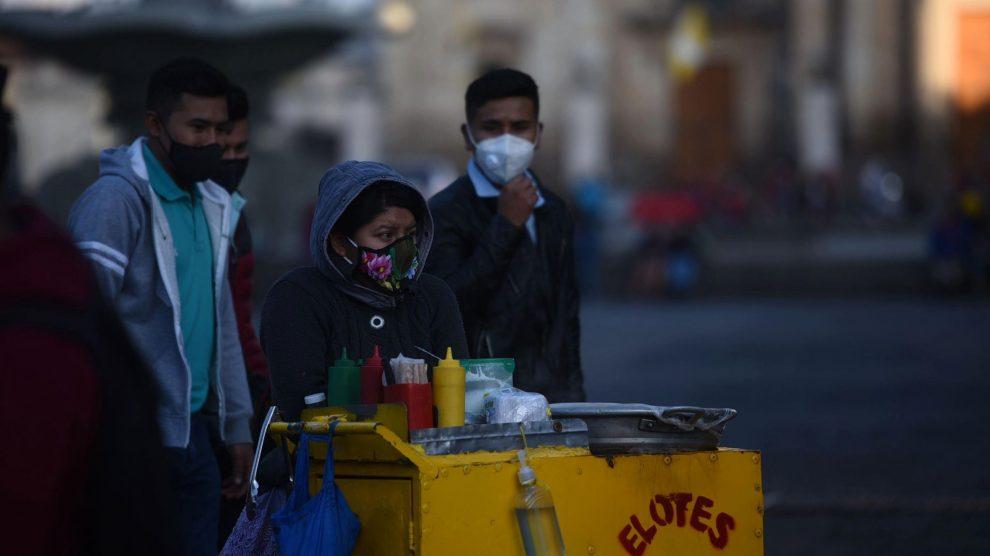Frío en Guatemala