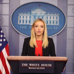 Keyleigh McEnany, portavoz de Trump
