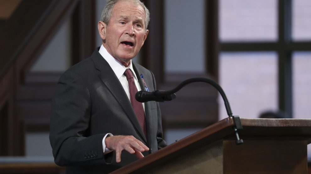 George W. Bush, expresidente de Estados Unidos