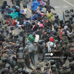 Condenan la violencia ejercida contra emigrantes hondureños