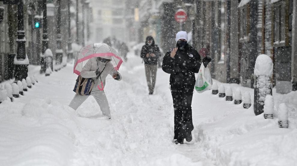 Tormenta de nieve España - enero 2021