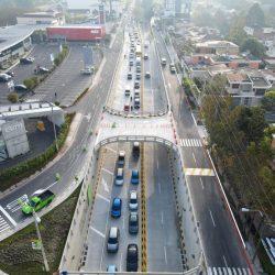 Municipalidad inaugura paso a desnivel en Cayalá