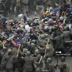 PDH denuncia uso de la fuerza contra caravana migrante en Chiquimula