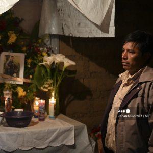 Velorio migrante fallecido en Tamaulipas