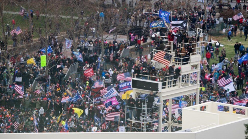 Protestas en el Capitolio de Washington