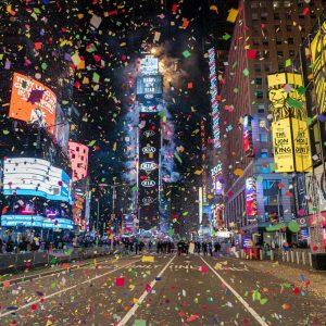 Año Nuevo 2021 en Nueva York
