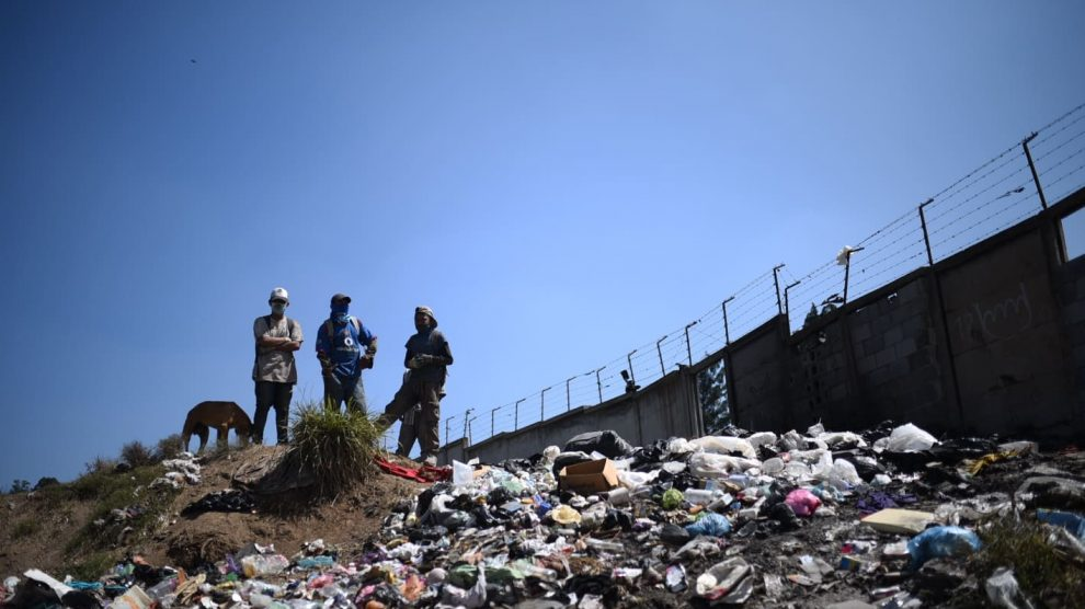 basura residuos relleno sanitario vertedero