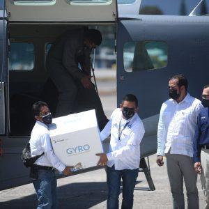 Primeras vacunas contra el Covid-19 ingresan a Guatemala