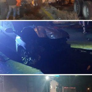 Accidente de tránsito en Villa Nueva.