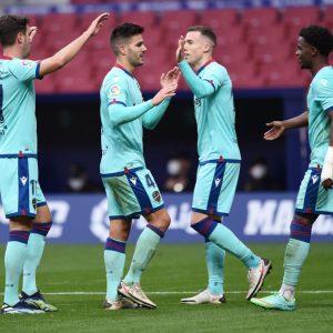 Levante se impone al Atlético de Madrid