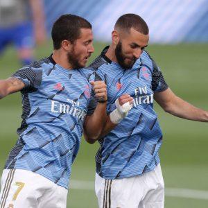 Eden Hazard y Karim Benzema están cerca de regresar