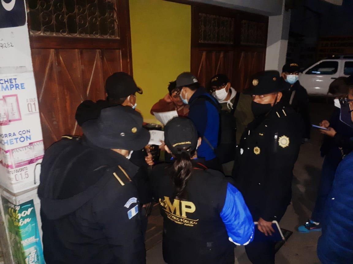 Autoridades desarrollan allanamientos por caso de acoso a niña en San Marcos