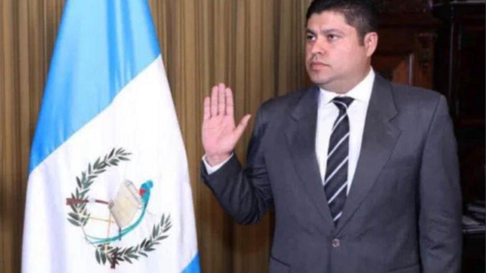 Mario Renato Monterroso García, exviceministro del Deporte y la Recreación, es acusado por corrupción por el Ministerio Público (MP).