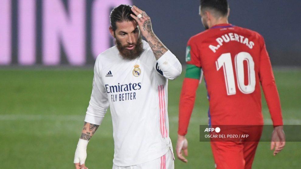 Sergio Ramos será baja durante seis semanas tras ser operado