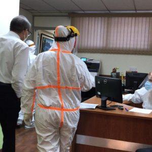 Diputados de la UNE reciben prueba de Covid-19 tras confirmarse un nuevo contagio