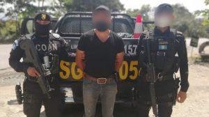 """William Chacón, alias """"Cartucho"""", es capturado por autoridades guatemaltecas."""