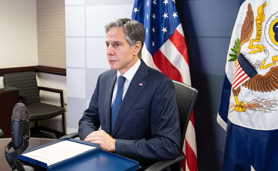 Antony Blinken, secretario de Estado de los Estados Unidos