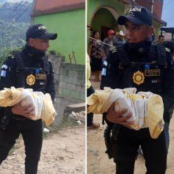 Hallan a bebé abandonado en un basurero en Huehuetenango